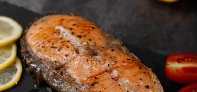 黑椒三文鱼