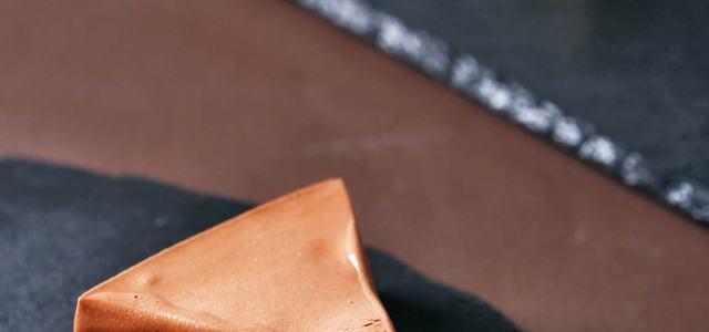 焦糖核桃巧克力慕斯