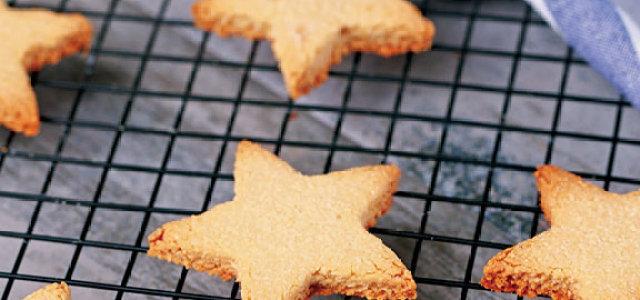 椰蓉星星饼干
