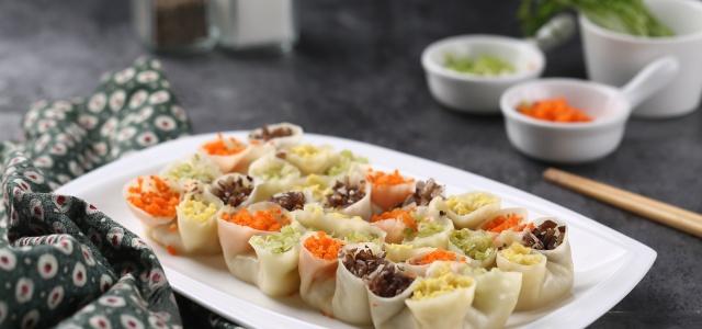 四喜饺子.
