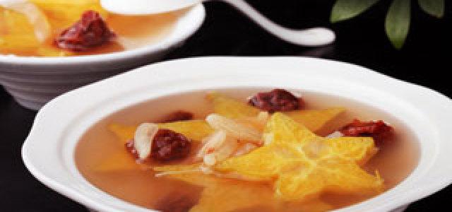 杨桃梅子甜汤