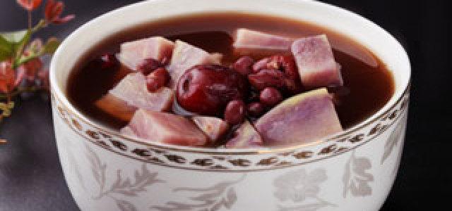 紫薯红豆糖水
