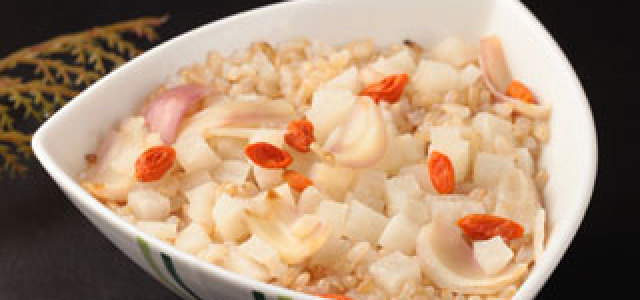 凉薯糙米饭