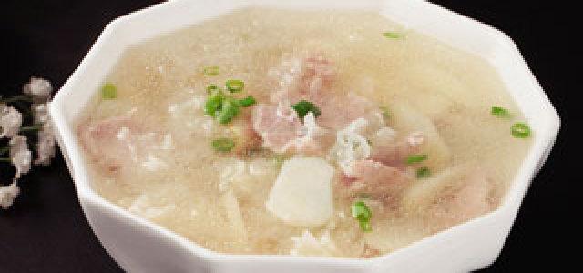 马蹄百合汤