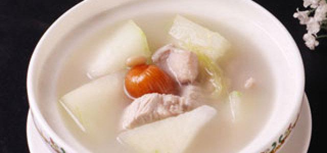 眉豆冬瓜玉米须瘦肉汤