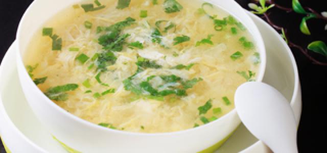 玉米葛根蛋花汤