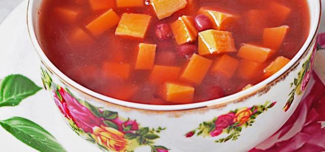 香软得特别甜的汤