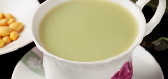 清香莴苣绿豆浆