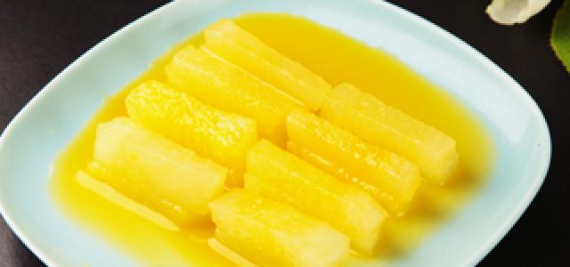 橙汁冬瓜条