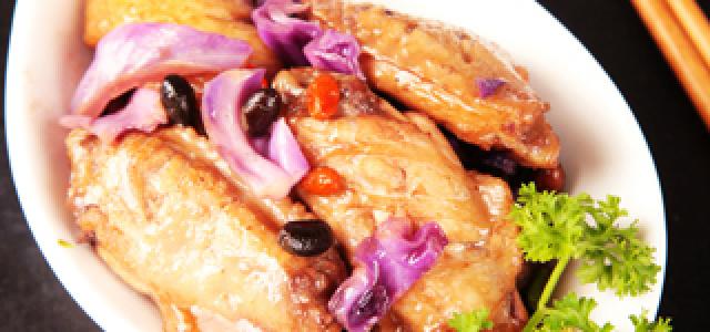 黑豆麻油鸡