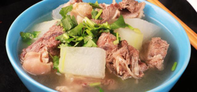 冬瓜炖羊肉